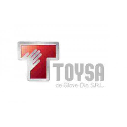 GUANTES TOYSA PVC ROJO 60CM