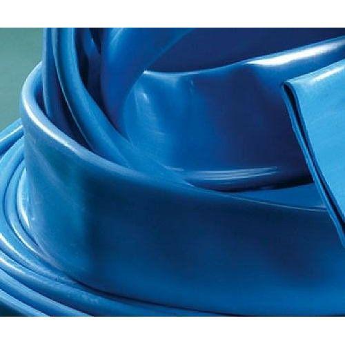 MANGA DICKSON PVC/TELA 1 1/2' CHATA AZUL ( X METRO