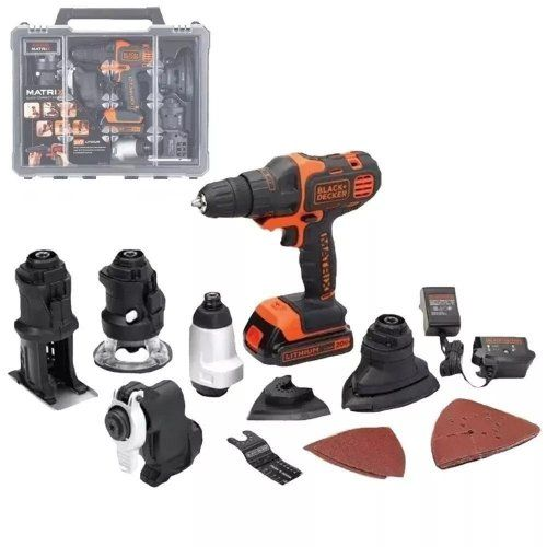 MULTIHERRAMIENTA BLACK + DECKER MATRIX 20V 6 EN 1