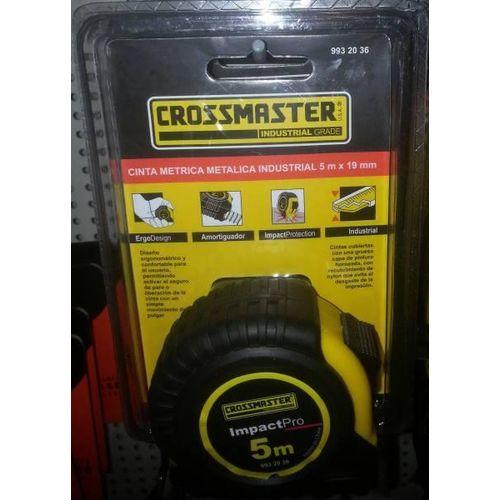 CINTA METRICA CROSSMASTER 5MT. IMPACTPRO 9932036