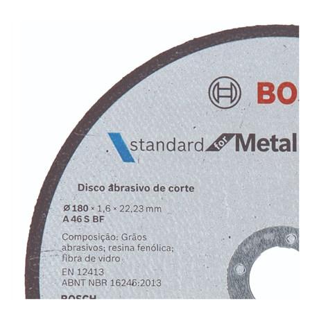 DISCO BOSCH 180*1.6MM METAL STANDARD 619384