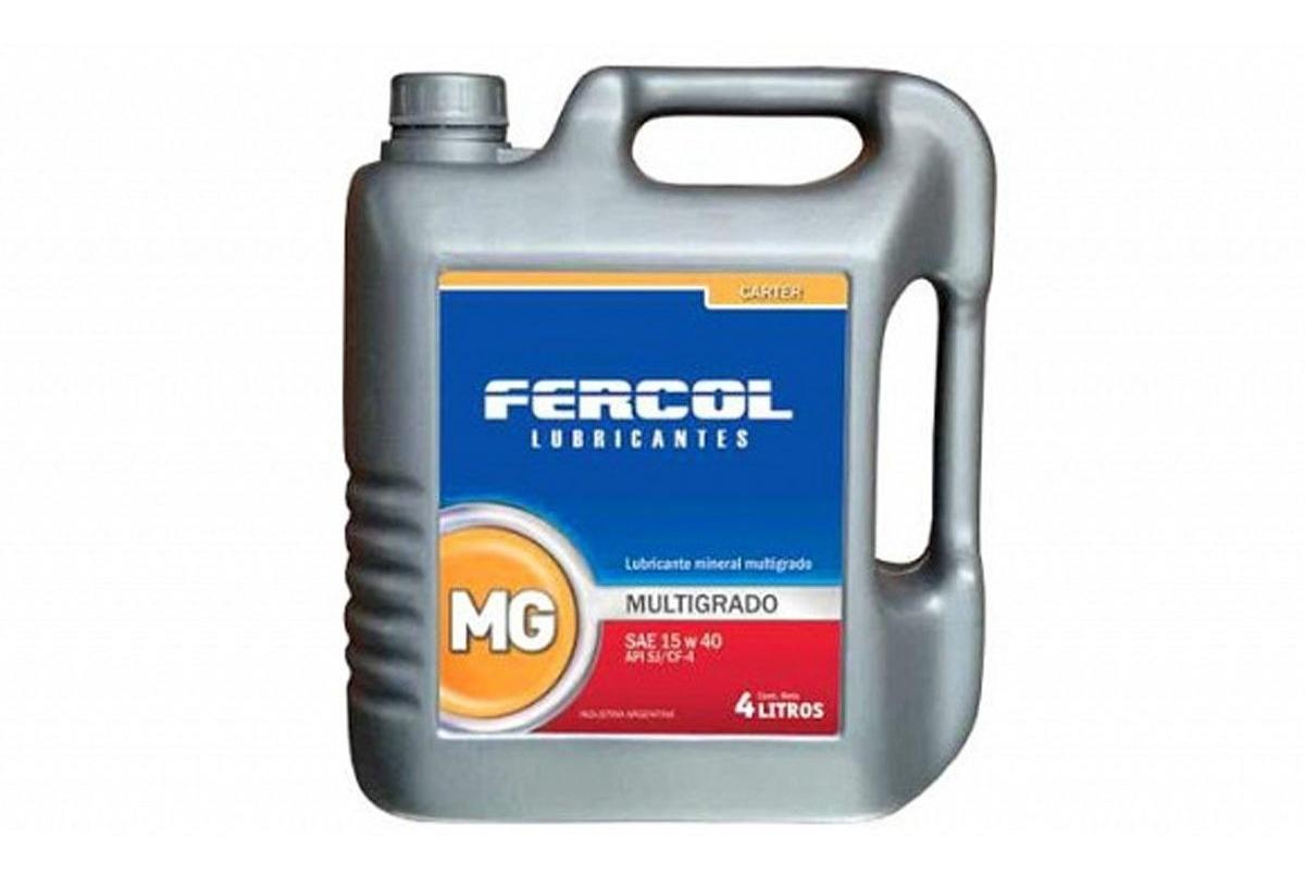 ACEITE MULTIGRADO FERCOL 15W40 X 1 LITRO