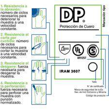 GUANTE DESCARNE PUÑO LONA DEPASCALE 51112