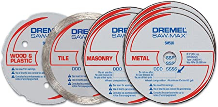 KIT DISCOS DREMEL DSM700-RW 7 PIEZAS