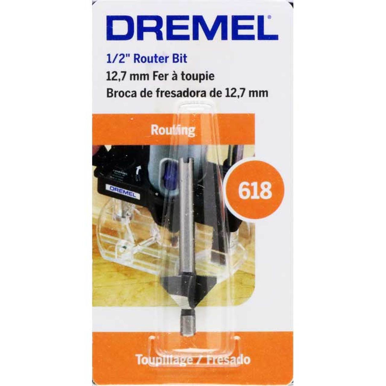 FRESA DREMEL BISEL A 45º 618